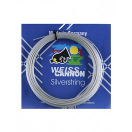 Weiss Cannon Silverstring - cordajes tenis