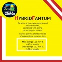 Weiss Cannon The Big Fantum Hybrid - Cordajes tenis (12m)